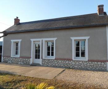Location Maison avec jardin 4 pièces Contres (41700) - Grand terrain